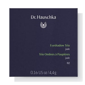 Dr Hauschka Eyeshadow trio 02 jade afbeelding