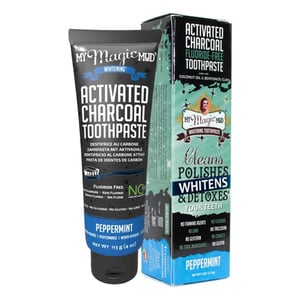 My Magic Mud My Magic Mud Activated Carbon Tandpasta (Charcoal Toothpaste Peppermint) afbeelding