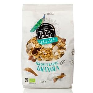 Royal Green Coconut Raisin Granola (cereal) afbeelding