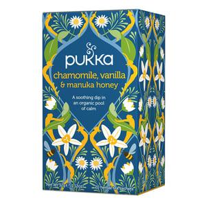 Pukka Pukka Chamomile Vanilla Manuka Honey thee afbeelding