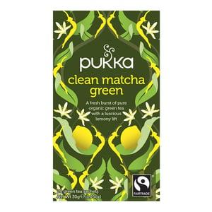 Pukka Pukka Clean Matcha Green Tea afbeelding