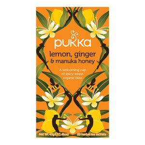 Pukka Pukka Lemon Ginger Manuka Honey thee afbeelding