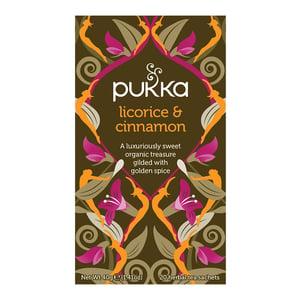 Pukka Pukka Licorice & Cinnamon zoethout en kaneelthee afbeelding