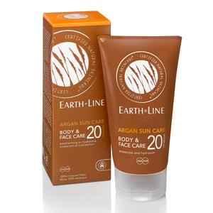 Earth-line Argan Sun Body & Face Care SPF 20 afbeelding