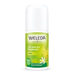 Weleda natuurcosmetica Deodorant roll on citrus 24h afbeelding
