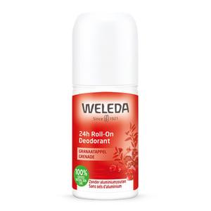 Weleda natuurcosmetica Deodorant roll-on granaatappel 24h afbeelding