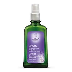 Weleda natuurcosmetica Lavendel Ontspannende Body Olie afbeelding