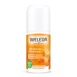 Weleda natuurcosmetica Duindoorn 24h roll-on deodorant afbeelding