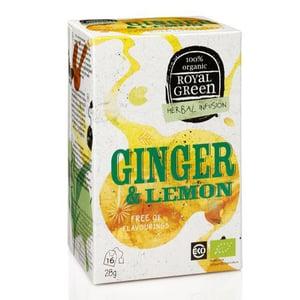 Royal Green Ginger & lemon afbeelding