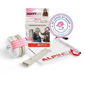 Alpine Muffy Baby oorkap roze afbeelding