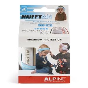 Alpine Muffy Baby oorkap blauw afbeelding