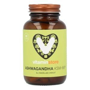 Vitaminstore Ashwagandha KSM-66® (ashwaganda) afbeelding