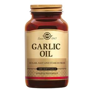 Solgar Vitamins Garlic Oil (knoflook olie) afbeelding
