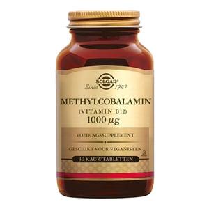 Solgar Vitamins Methylcobalamin 1000 µg (vitamine B12) afbeelding