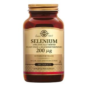 Solgar Vitamins Selenium 200 µg afbeelding