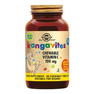 Solgar Vitamins Kangavites C 100 mg afbeelding