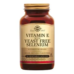 Solgar Vitamins Vitamin E with Selenium (vitamine E met seleen) afbeelding