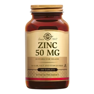 Solgar Vitamins Zinc 50 mg (zink) afbeelding