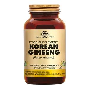 Solgar Vitamins Ginseng Korean (Panax ginseng quinquefolium) afbeelding