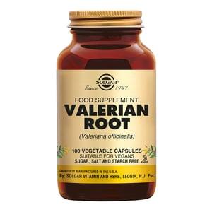 Solgar Vitamins Valerian Root (valeriaan) afbeelding