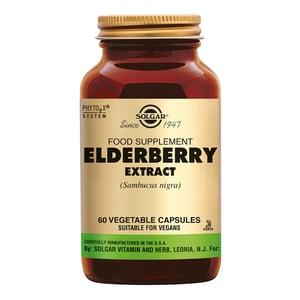 Solgar Vitamins Elderberry Berry Extract (vlierbes) afbeelding