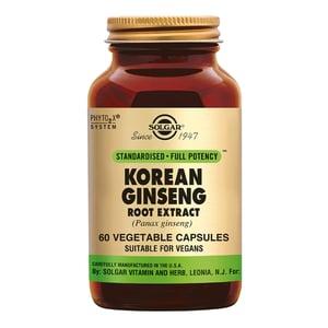 Solgar Vitamins Ginseng Korean Root Extract (Panax ginseng quinquefolium) afbeelding