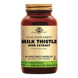 Solgar Vitamins Milk Thistle Herb Extract (mariadistel) afbeelding