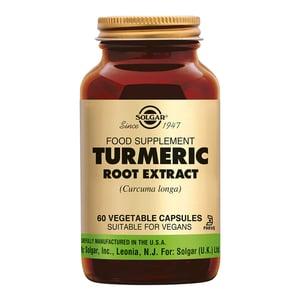 Solgar Vitamins Turmeric Root Extract (kurkuma, geelwortel) afbeelding