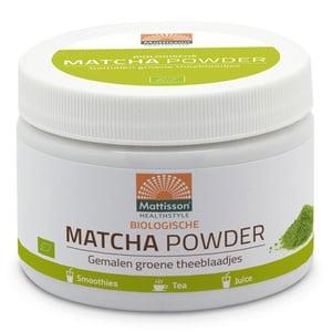 Mattisson Healthstyle Biologische Matcha Powder (Absolute Matcha Powder Instant) afbeelding