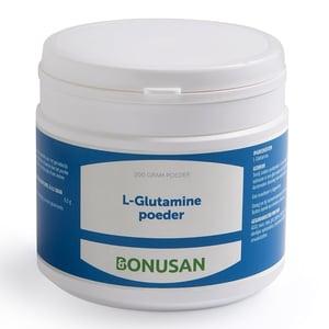 Bonusan L-Glutamine poeder 200 gram afbeelding