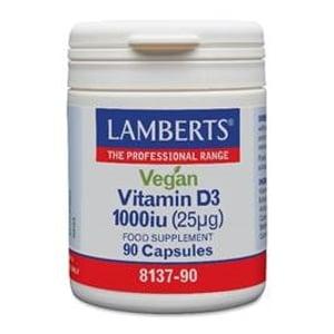 Lamberts vit d3 1000ie 25mg vegan /8137 afbeelding