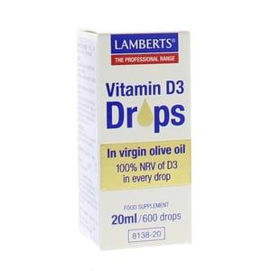 Lamberts Vitamine D3 druppels afbeelding