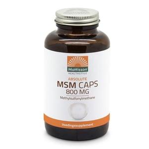 Mattisson Healthstyle MSM 800 mg afbeelding