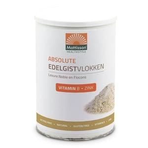 Mattisson Healthstyle Edelgistvlokken vitamine b12 + zink afbeelding