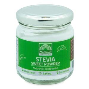 Mattisson Healthstyle Stevia sweet powder (stevia & inuline) afbeelding