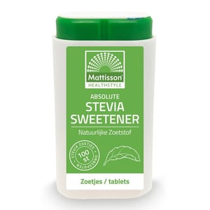 Mattisson Healthstyle Stevia sweetener zoetjes/tablets afbeelding
