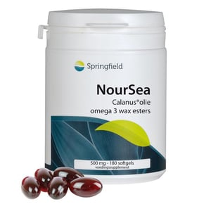 Springfield NourSea calanusolie omega 3 wax esters afbeelding