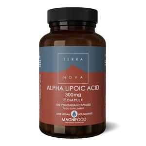 Terranova Alpha lipoic acid 300 mg complex afbeelding