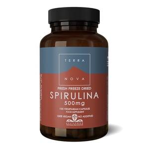 Terranova Spirulina 500 mg afbeelding