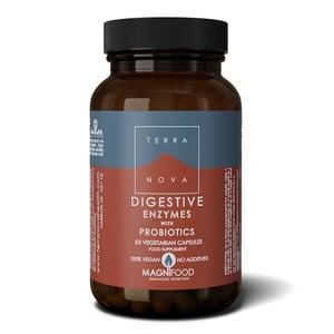 Terranova Digestive enzymes with probiotics afbeelding
