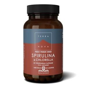 Terranova Spirulina & chlorella complex afbeelding