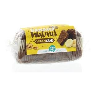 TerraSana Vegan cake banaan & walnoot bio afbeelding