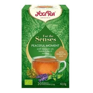 Yogi Tea Tea for the senses peaceful moment afbeelding