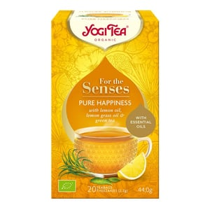 Yogi Tea Tea for the senses pure happiness afbeelding