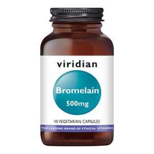 Viridian Bromelain 500 mg afbeelding