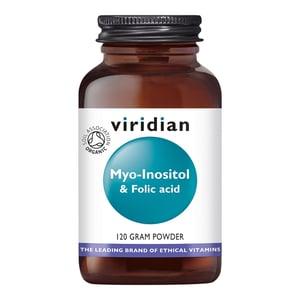 Viridian Foliumzuur Myo-Inositol and Folic Acid afbeelding