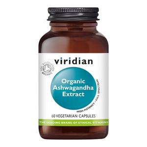Viridian Organic Ashwagandha Extract afbeelding