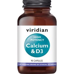 Viridian High Potency Calcium & D3 afbeelding