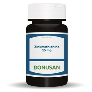 Bonusan Zinkmethionine 15 mg (90 capsules) afbeelding
