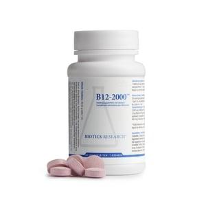 Biotics Vitamin B12 2000 mcg afbeelding
